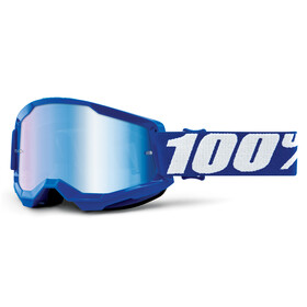 100% Strata Anti-Fog Goggles Gen2 blue/mirror